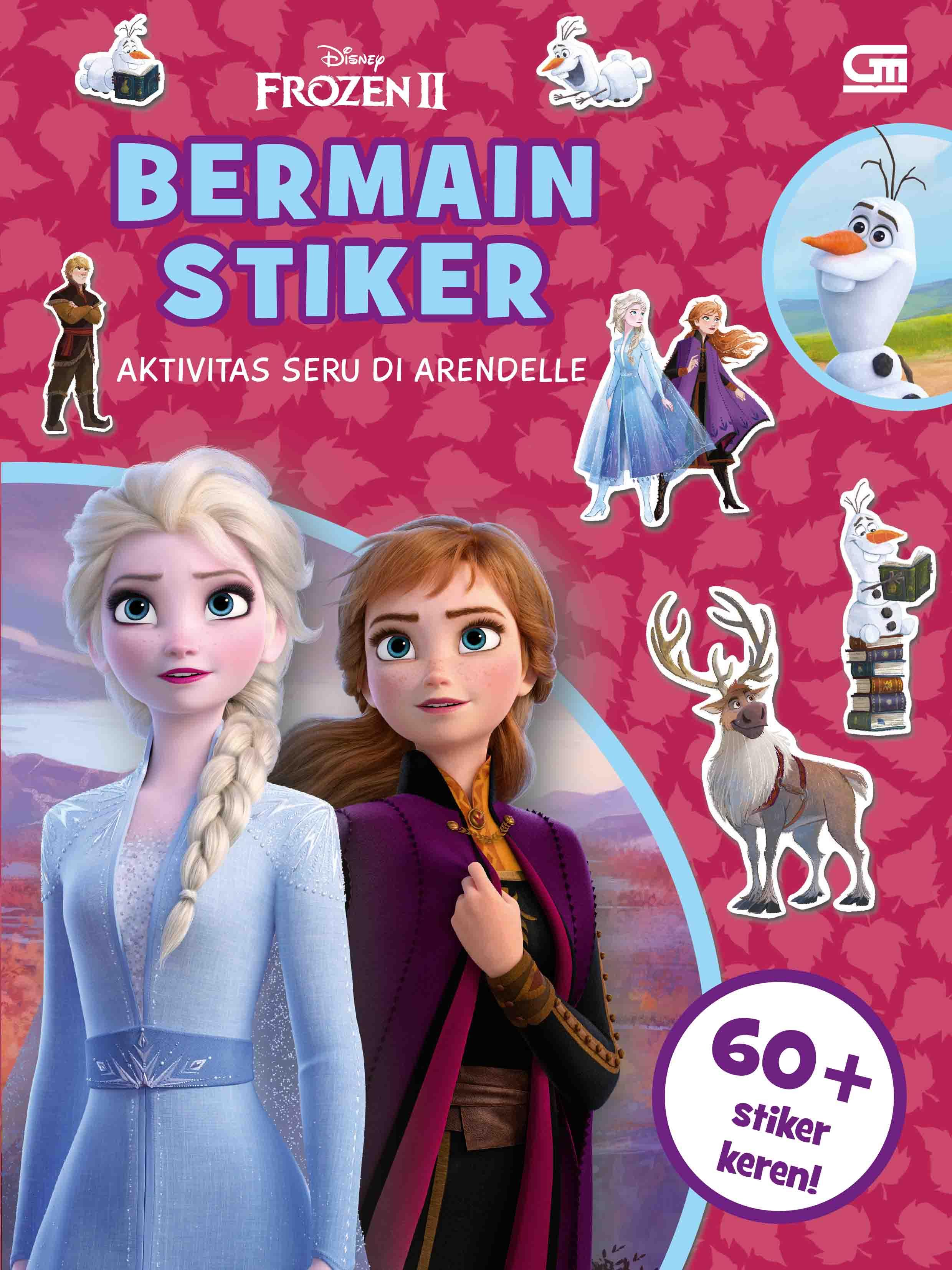 Frozen II: Bermain Stiker: Aktivitas Seru di Arendelle