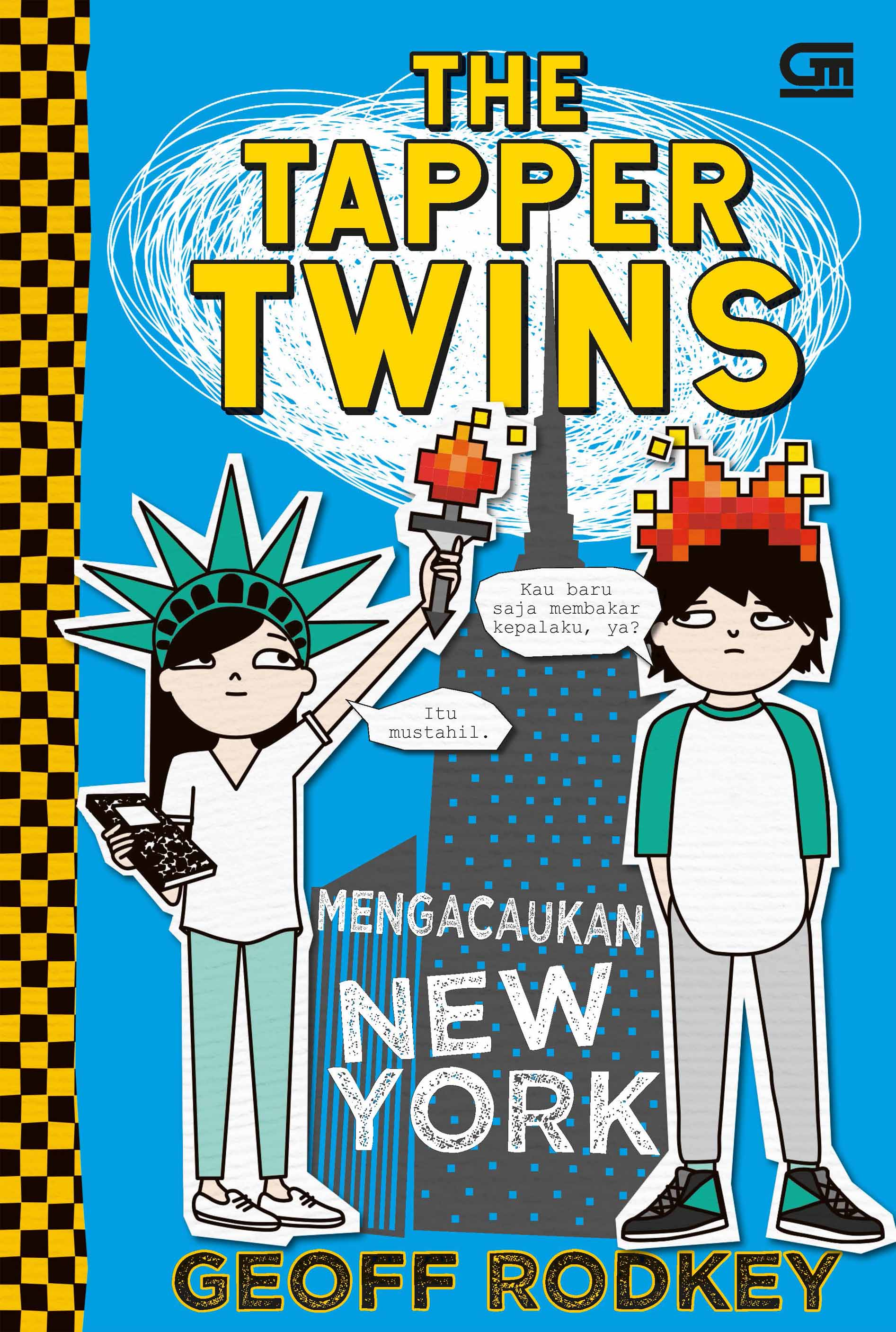 The Tapper Twins#2: Mengacaukan New York (The Tapper Twins: Tear Up New York)