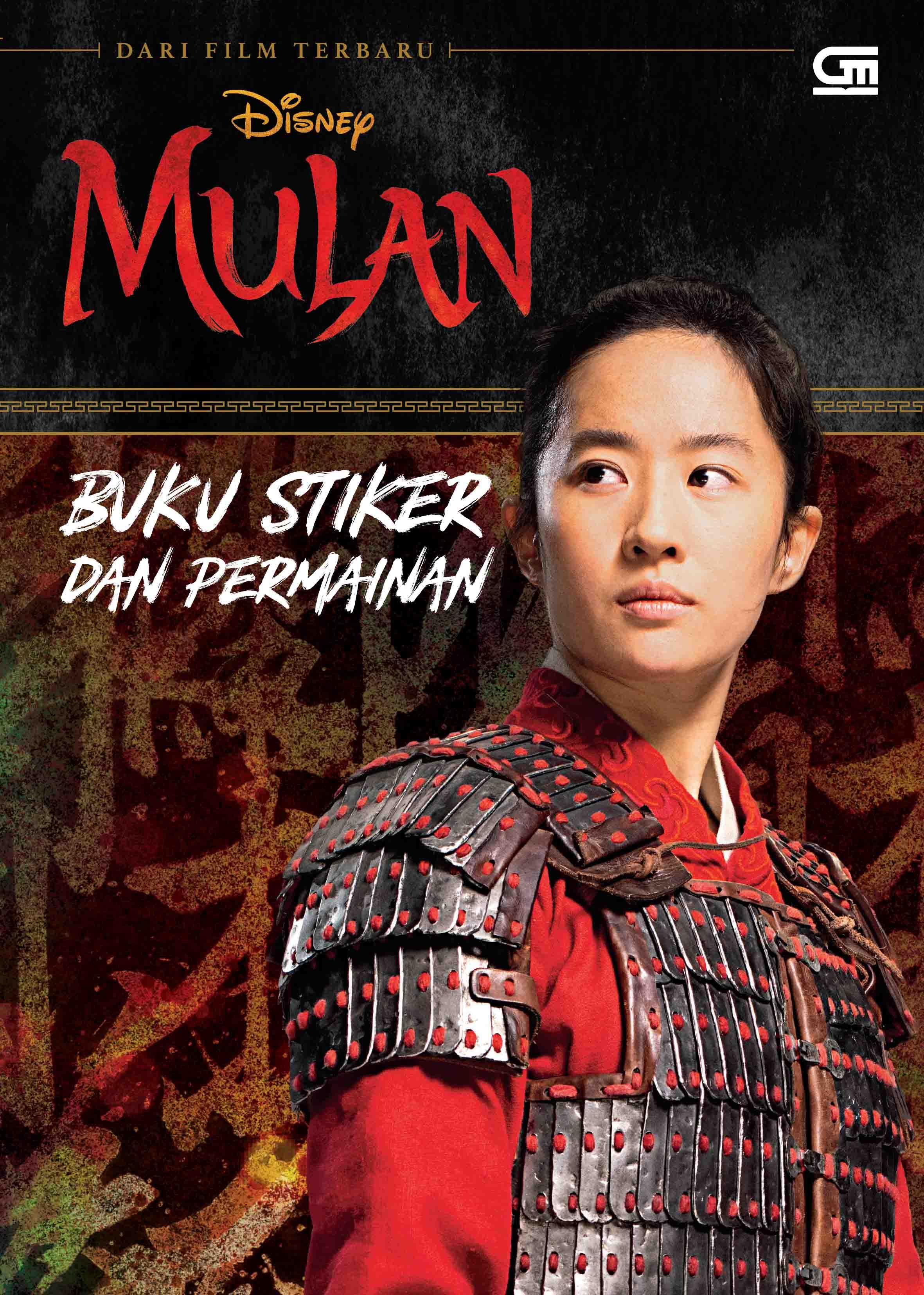 Mulan: Buku Stiker dan Permainan