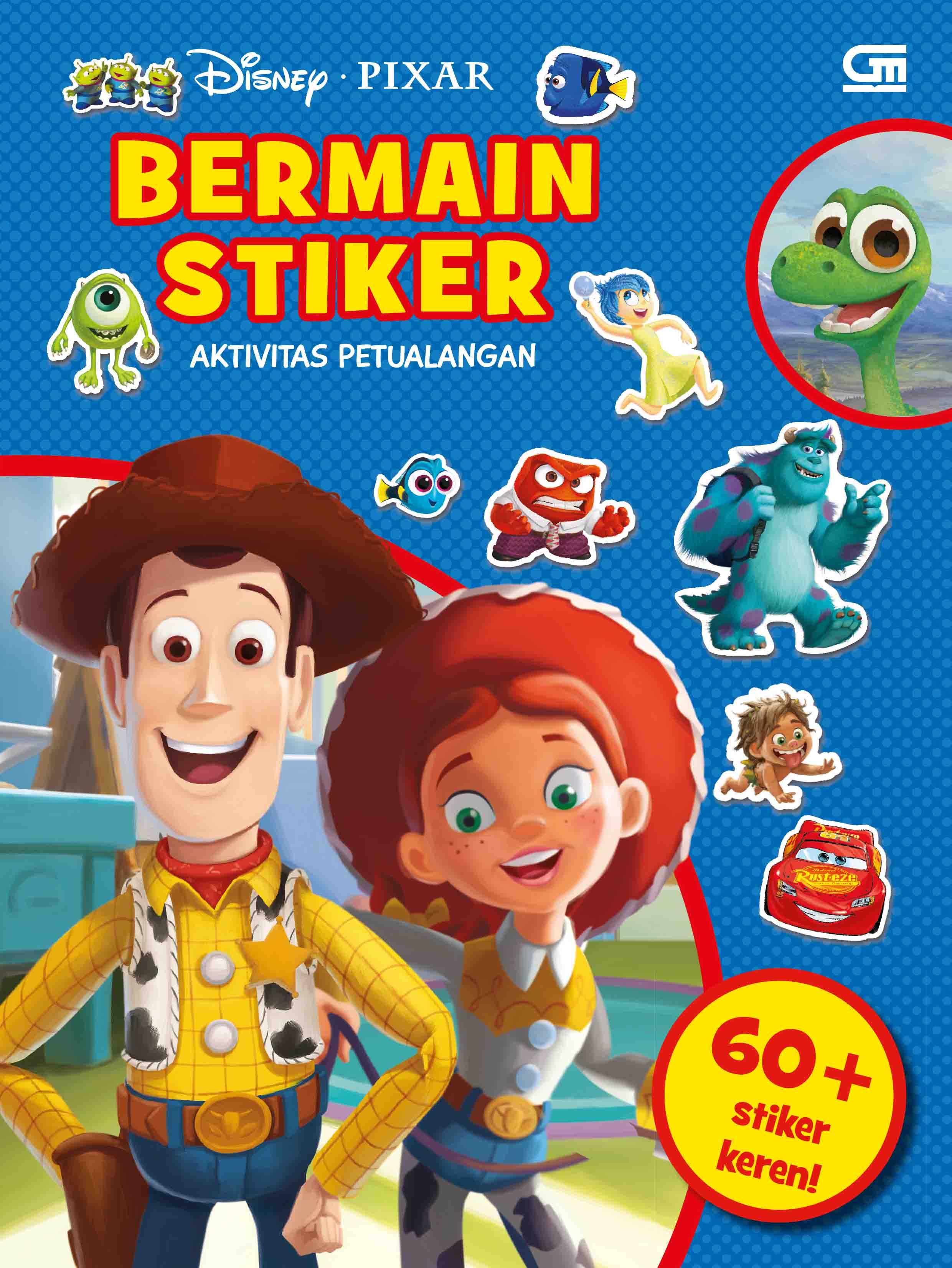 Disney Pixar: Bermain Stiker: Aktivitas Petualangan