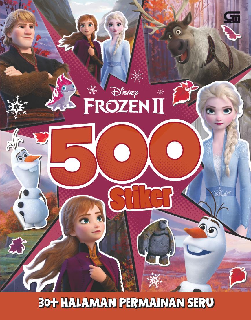 Frozen II: 500 Stiker