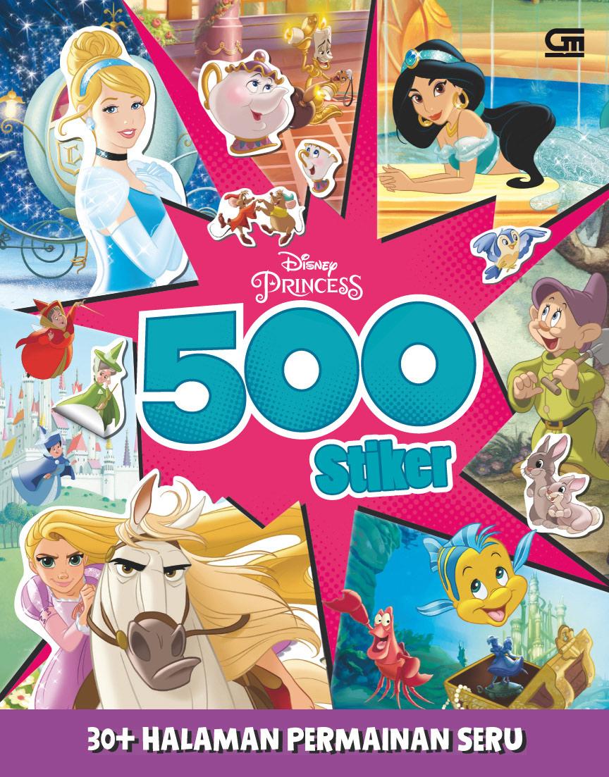 Disney Princess: 500 Stiker