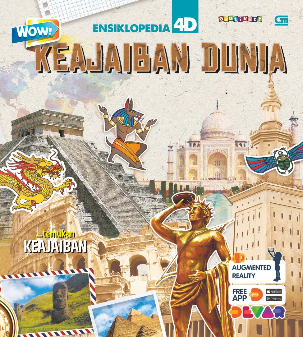 Wow! Ensiklopedia 4D: Keajaiban Dunia