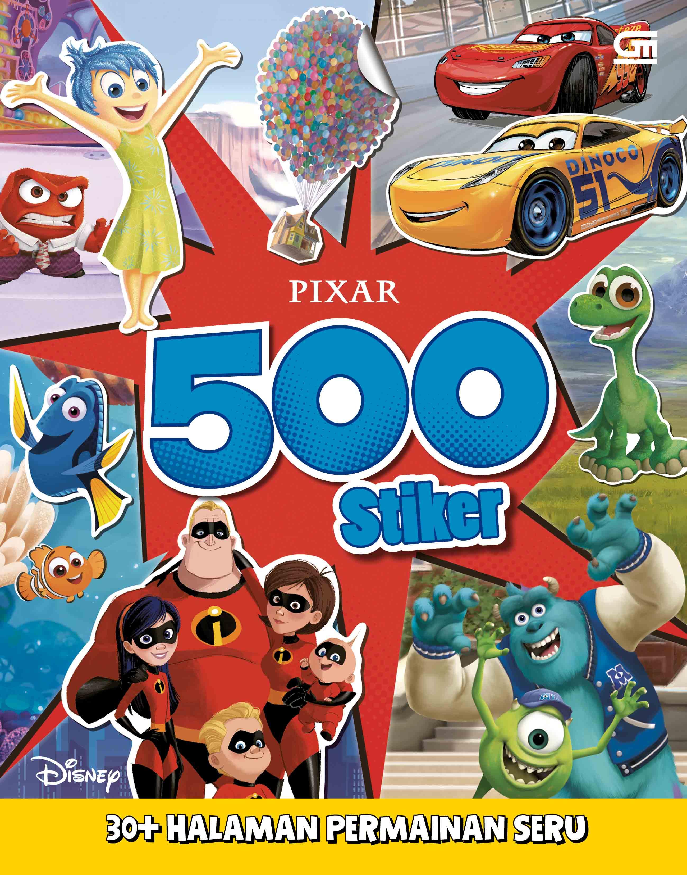 Disney Pixar - 500 Stiker