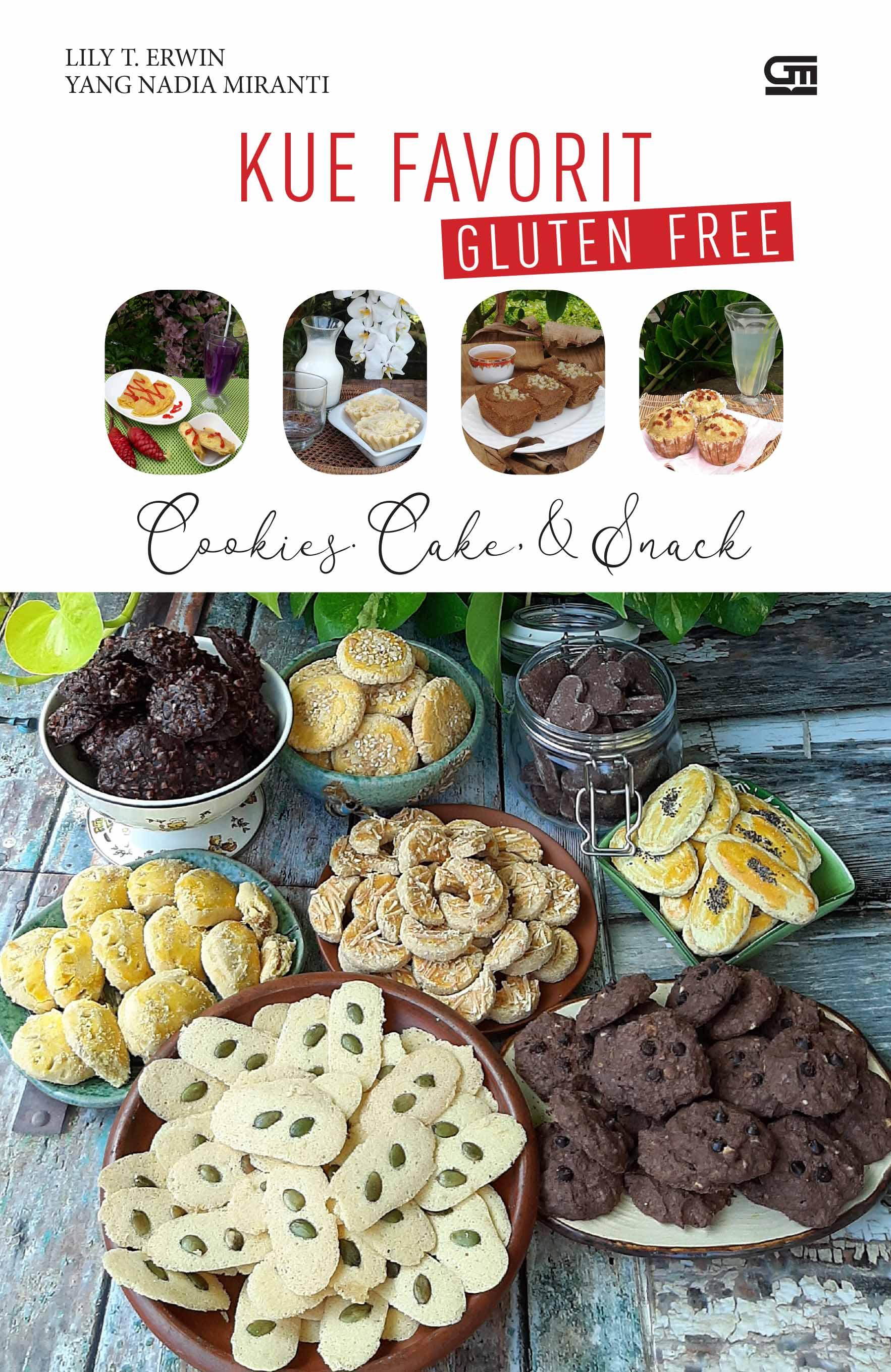 Kue Favorit Gluten Free--Cookies, Cake & Snack