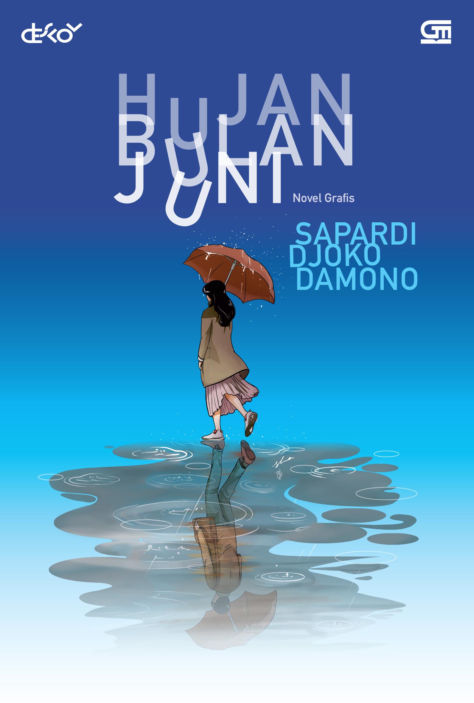 Novel Grafis Hujan Bulan Juni