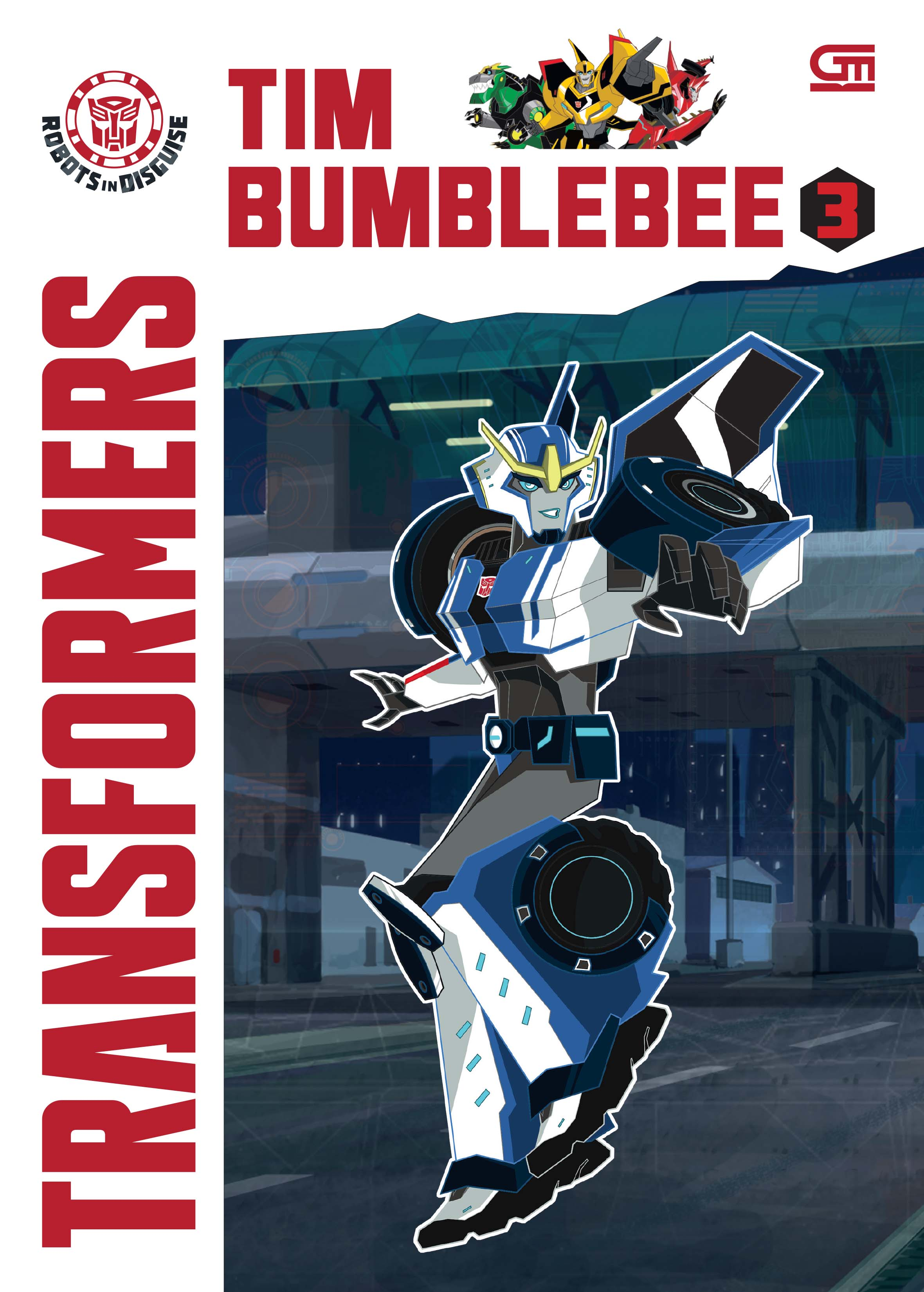 Transformers Robots in Disguise: Tim Bumblebee 3