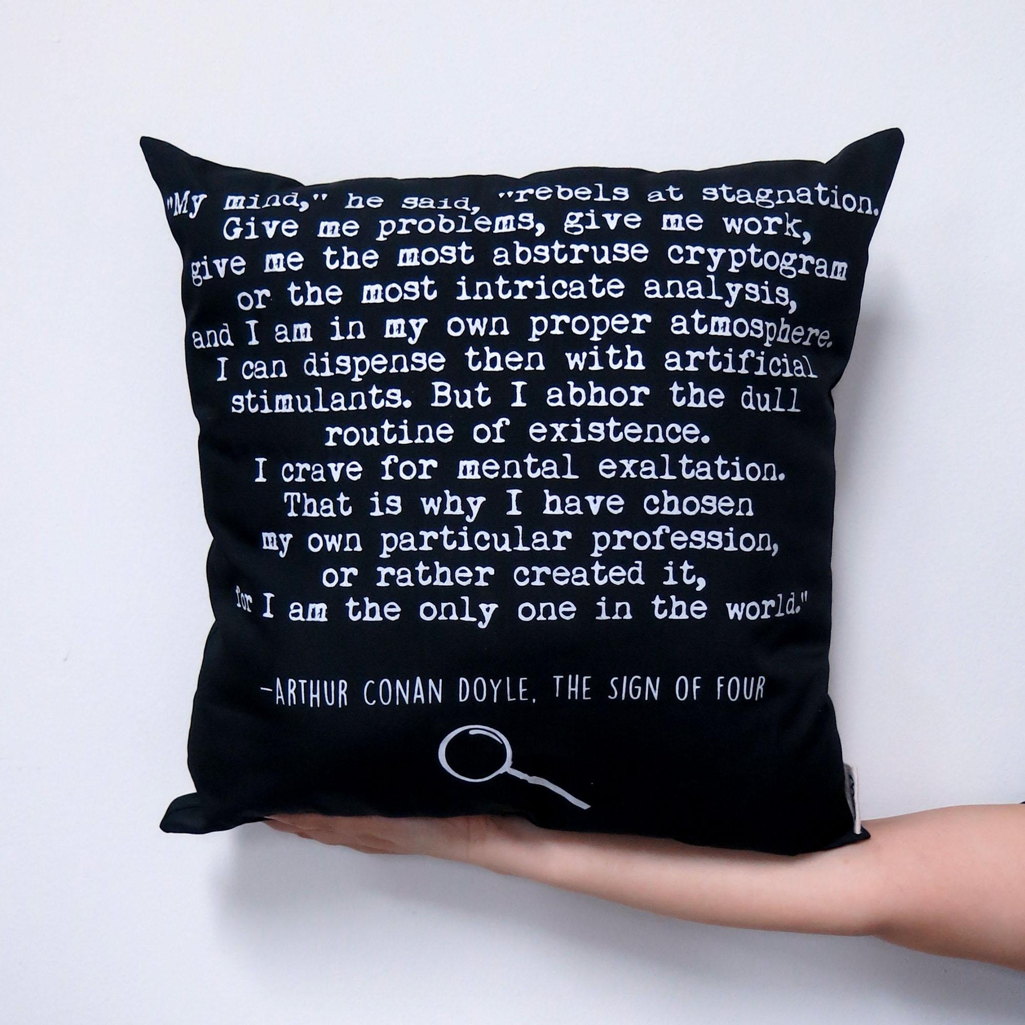 Sherlock Holmes Cushion Pillow 3