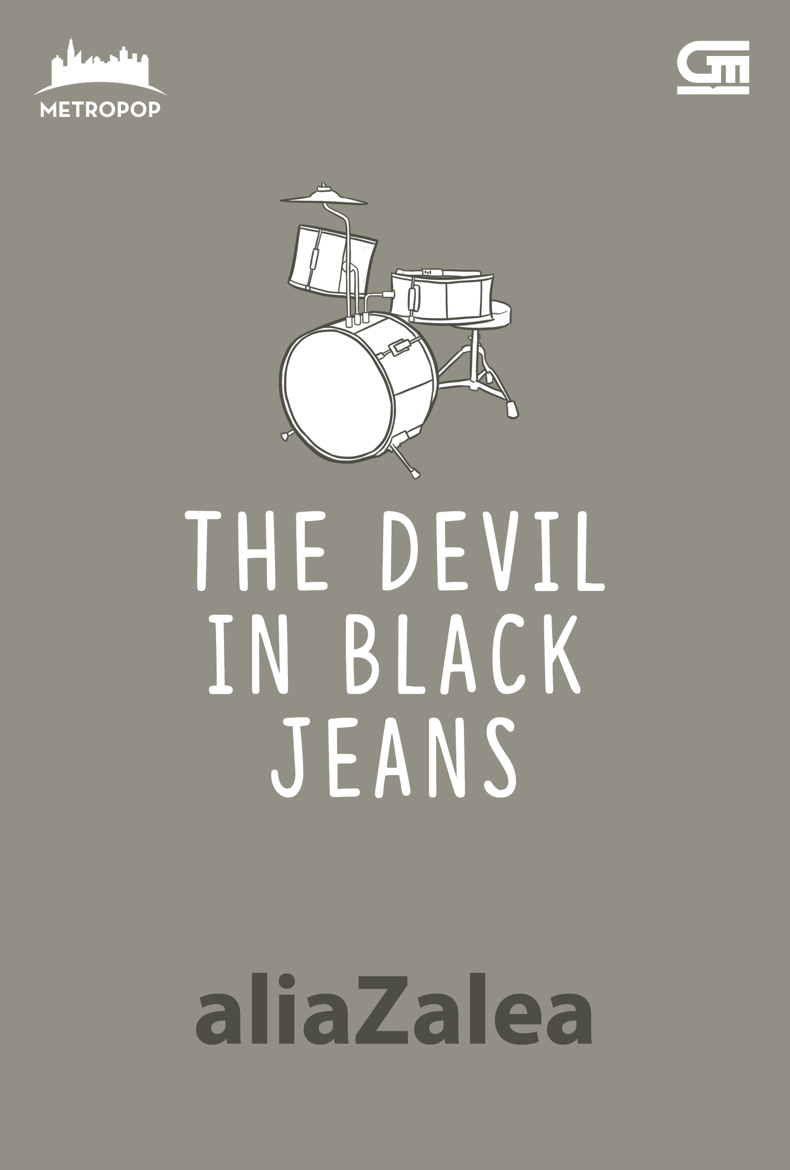 Metropop: The Devil in Black Jeans (Cover Baru)