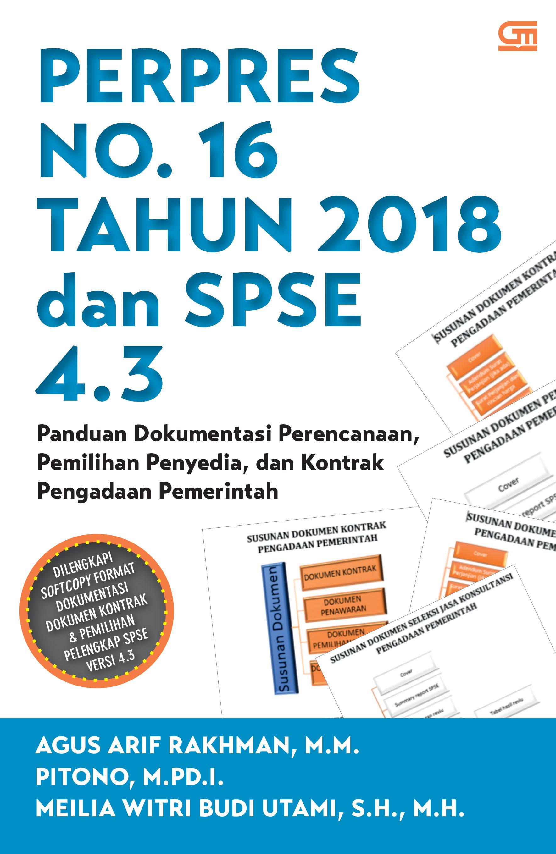 Perpres No.16 Tahun 2018 dan SPSE 4.3