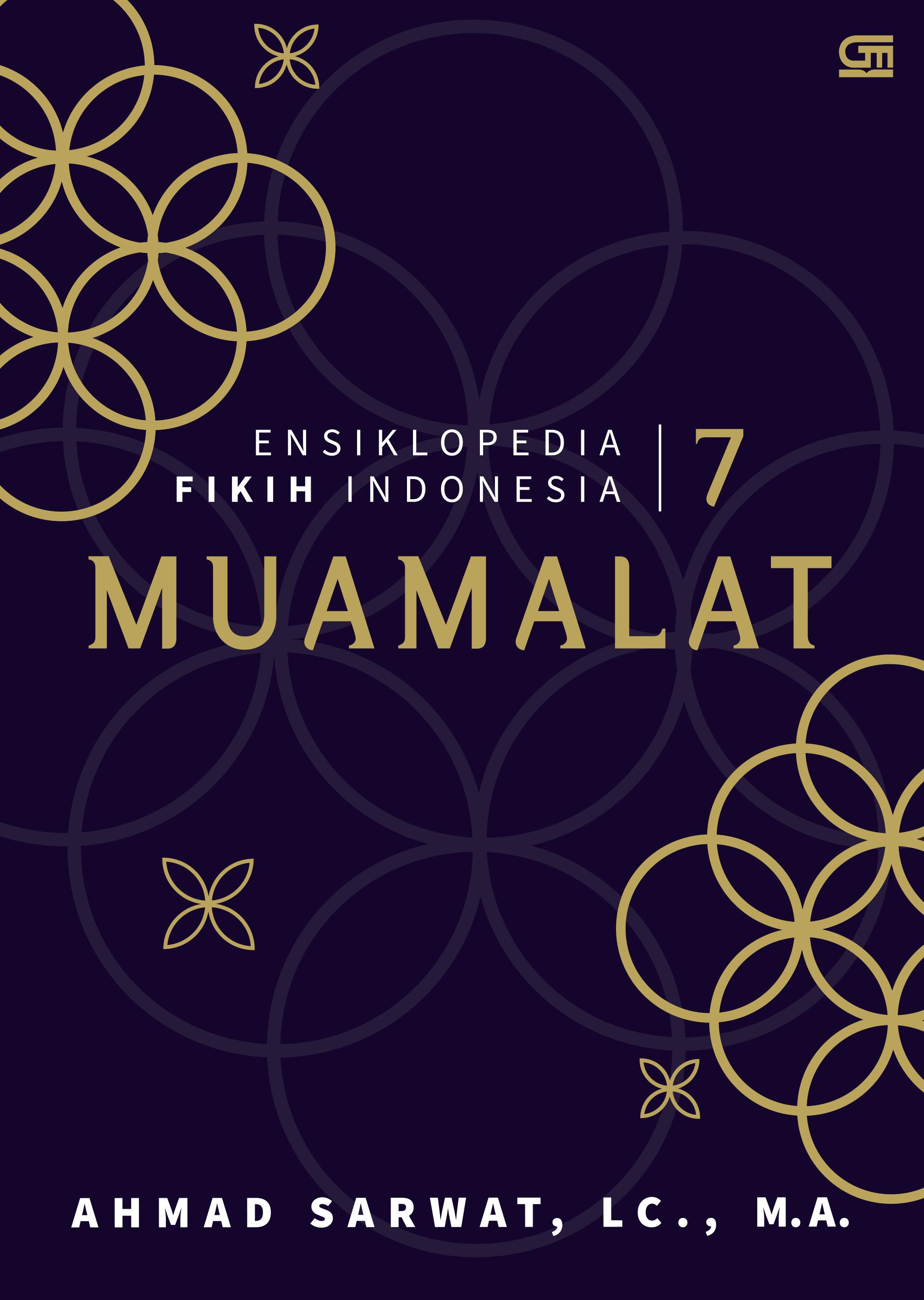 Ensiklopedia Fikih Indonesia 7: Muamalat