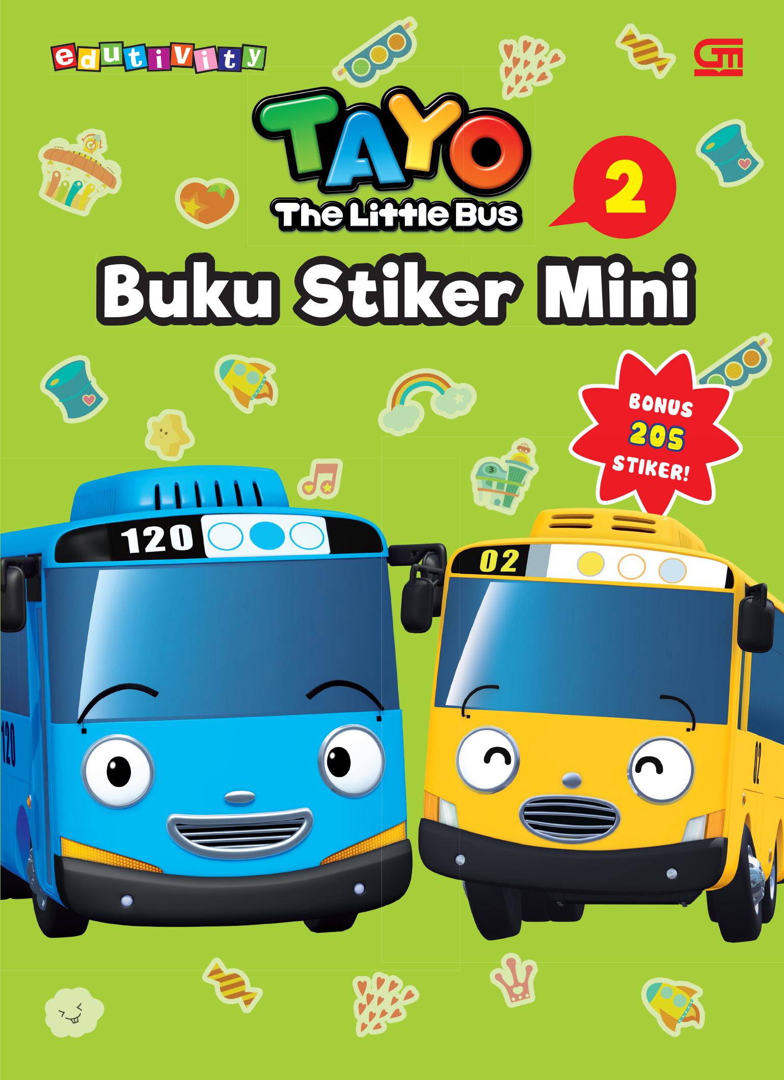 Tayo the Little Bus: Buku Stiker Mini 2