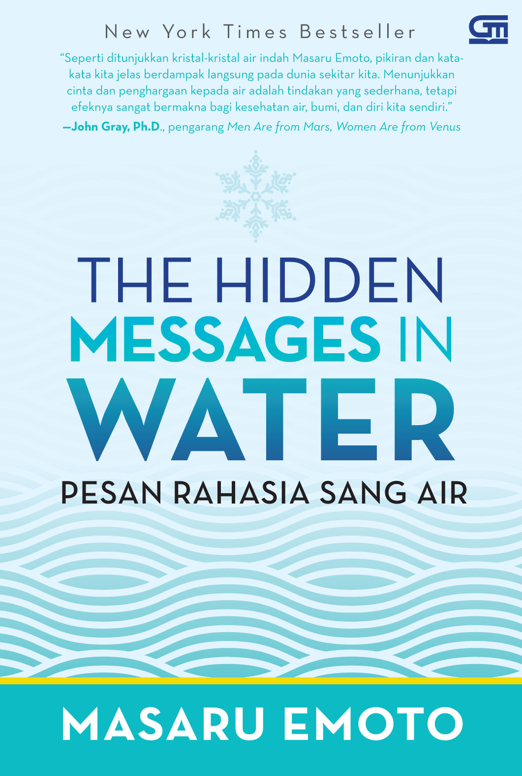 The Hidden Messages In Water (Cover Baru)