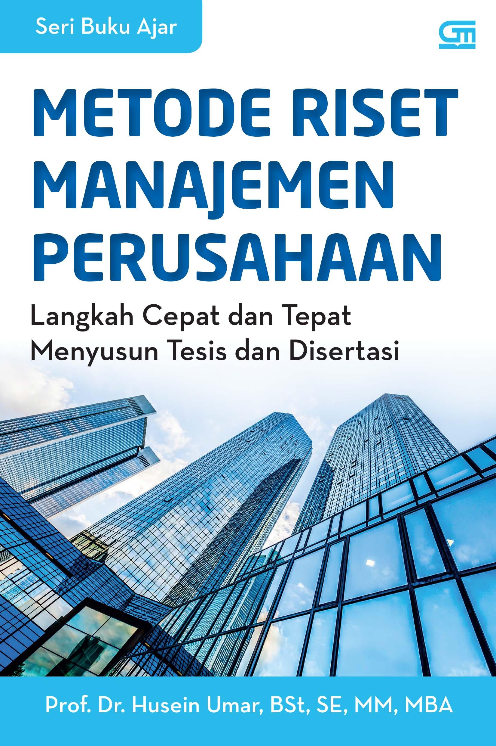 Metode Riset Manajemen Perusahaan