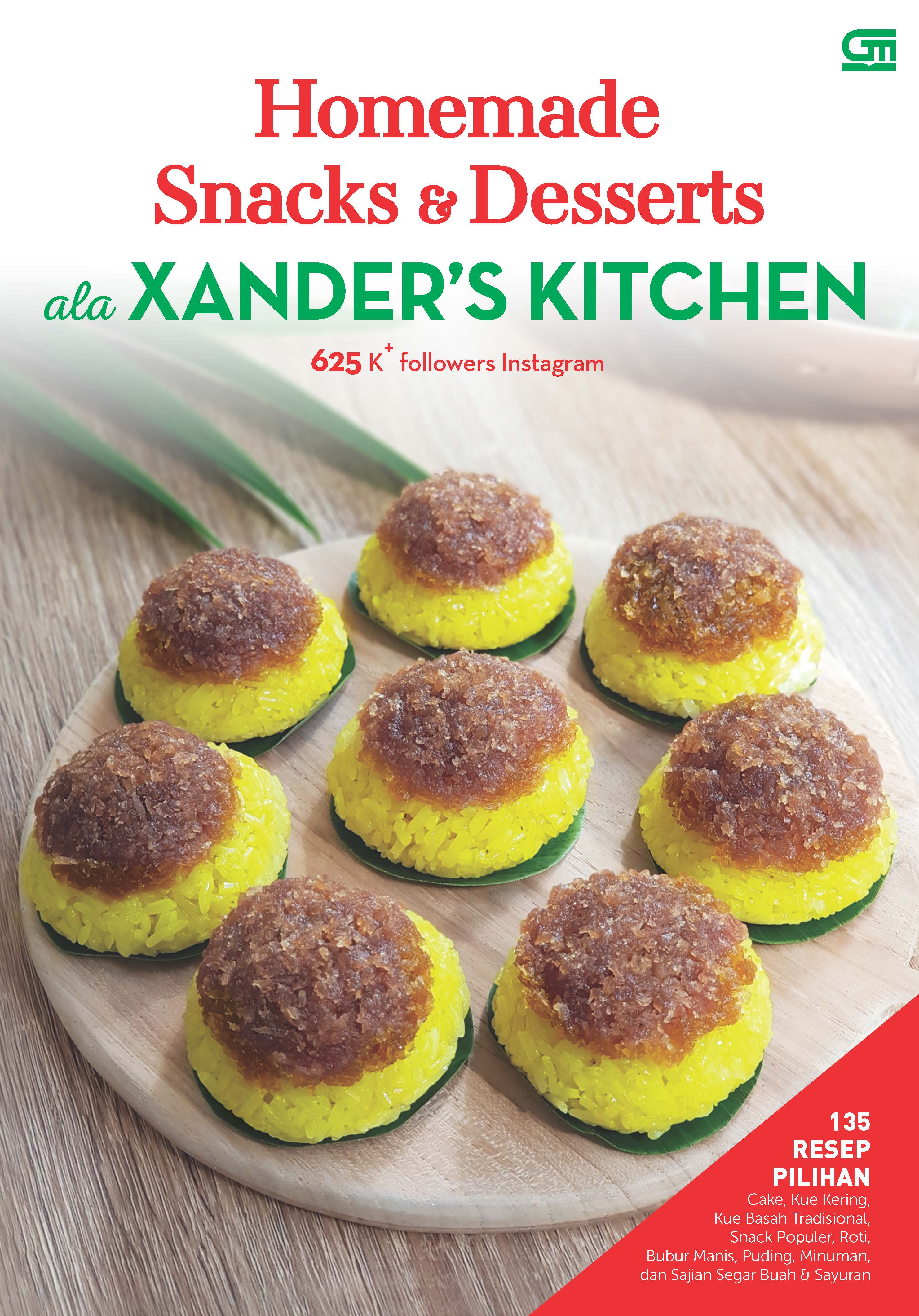 Homemade Snacks & Desserts ala XANDER\'S KITCHEN