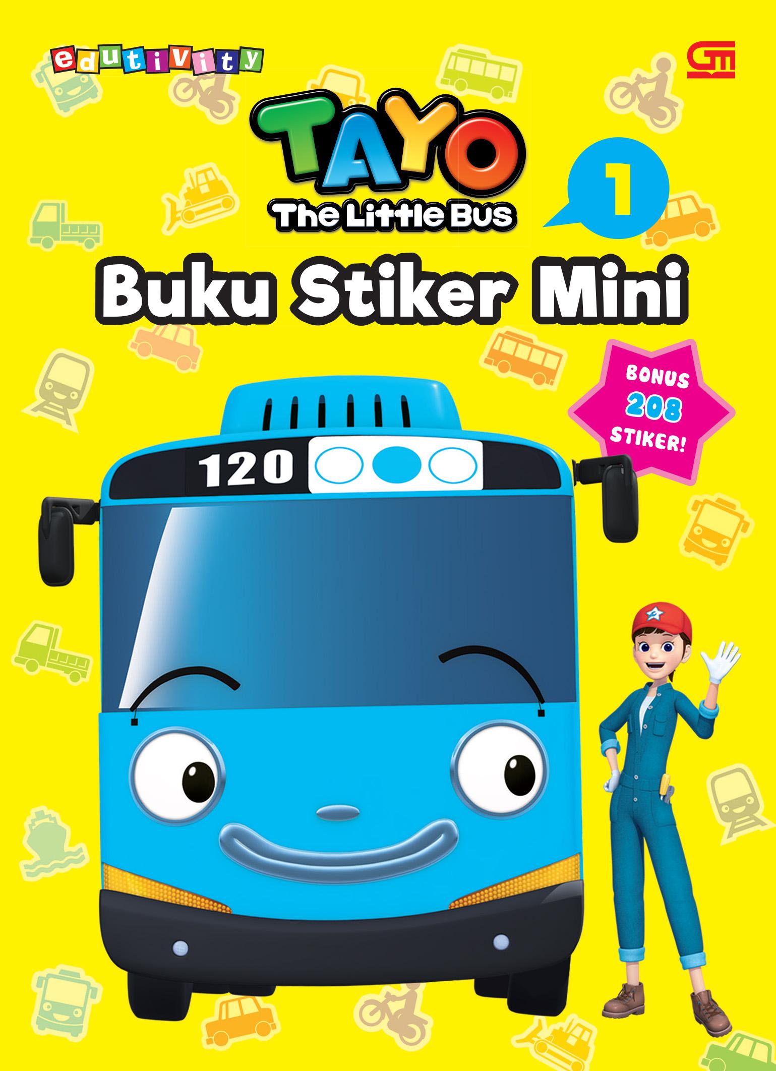 Tayo the Little Bus: Buku Stiker Mini 1