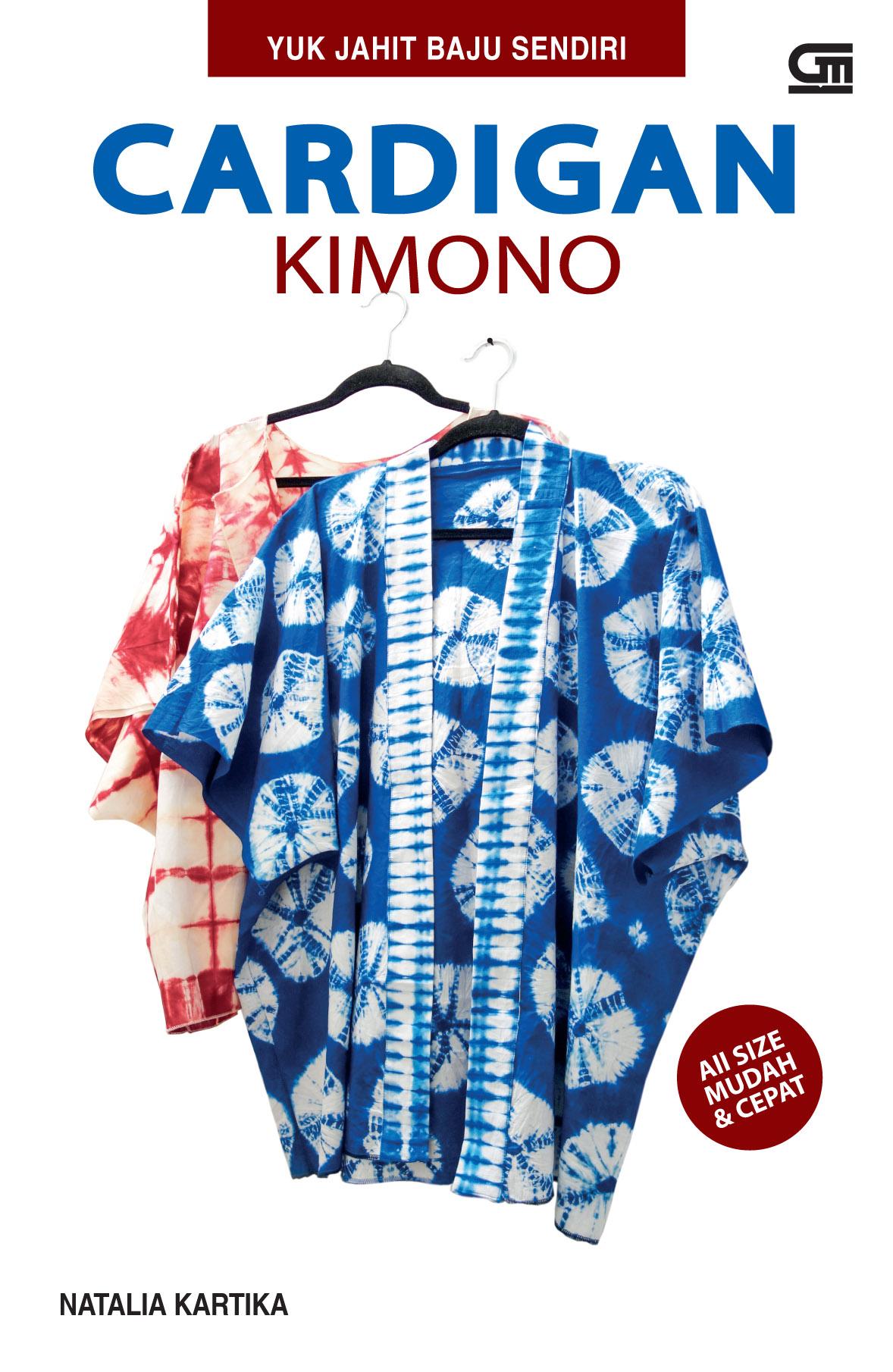 Yuk Jahit Baju Sendiri - Cardigan Kimono
