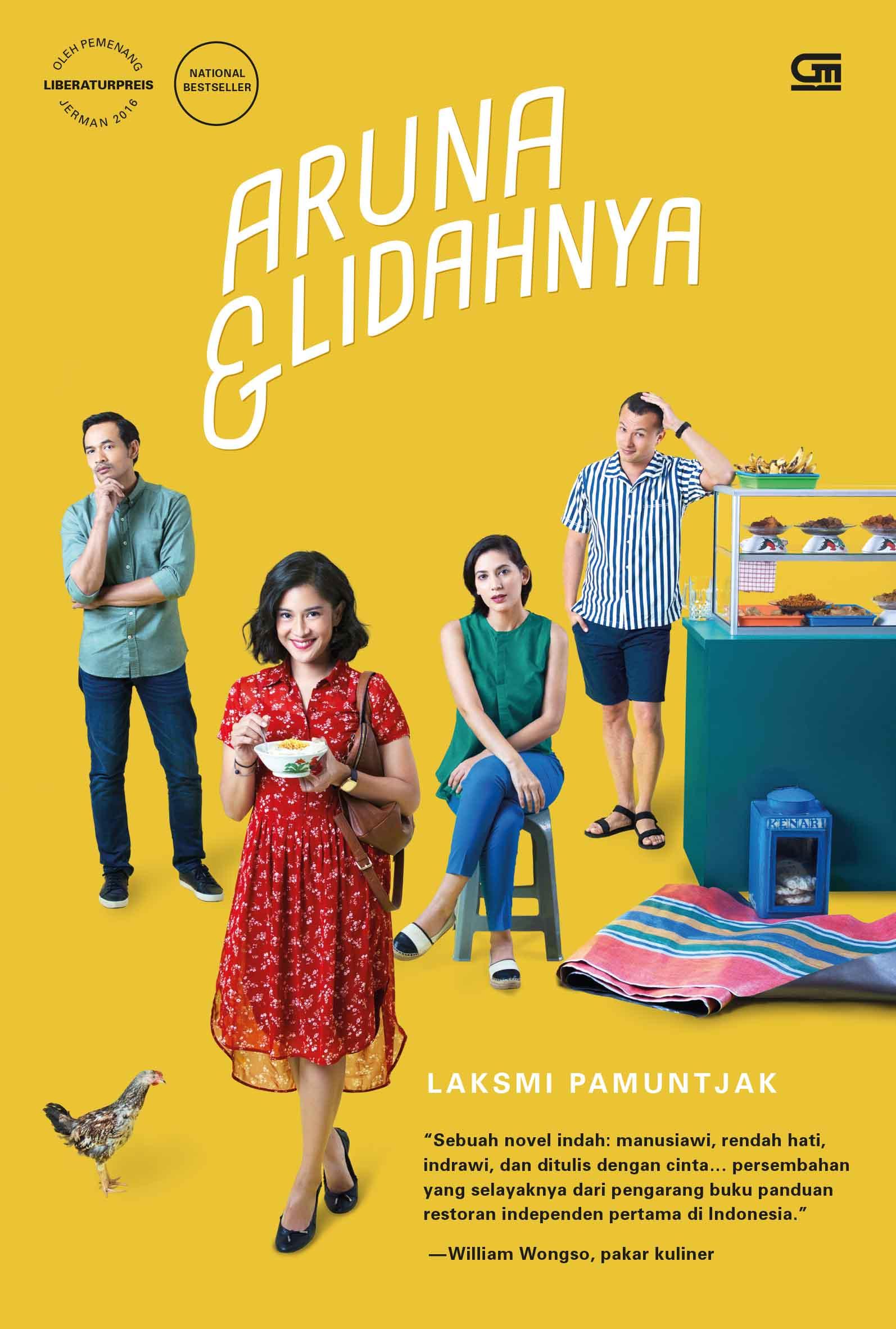 Aruna dan Lidahnya (Cover Film)