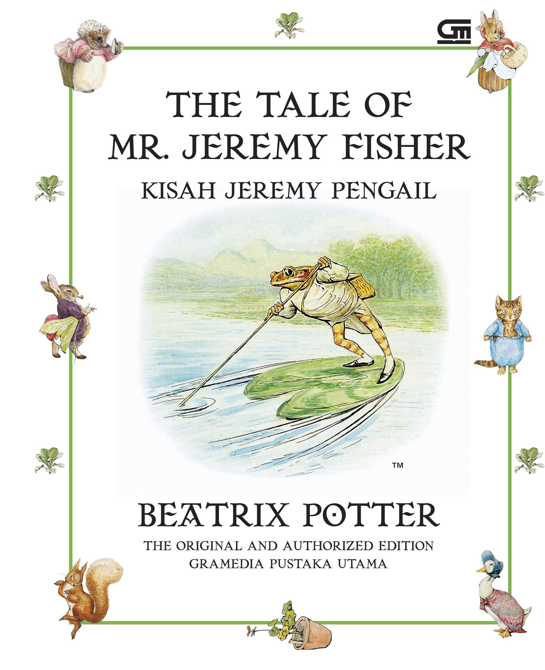 Kisah Jeremy Pengail (The Tale of Jeremy Fisher)