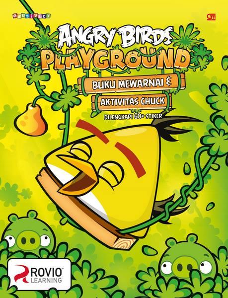 Angry Birds: Playground - Buku Mewarnai & Aktivitas Chuck