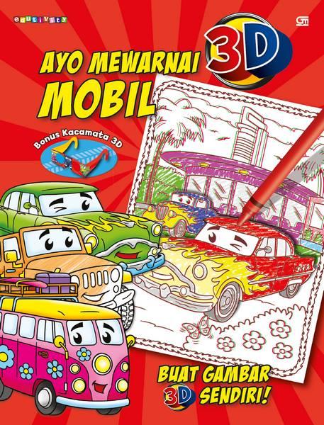 Ayo Mewarnai 3D---Colour Me: Mobil---Cars & Trucks