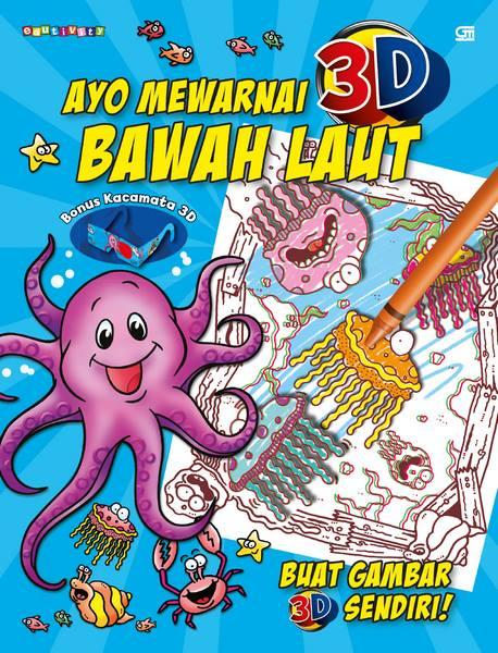 Ayo Mewarnai 3D---Colour Me: Bawah Laut---Undersea