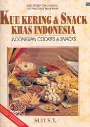 Kue Kering Dan Snack Khas Indonesia (Edisi Dwi Bahasa)