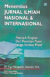 Menembus Jurnal Ilmiah Nasional dan Internasional