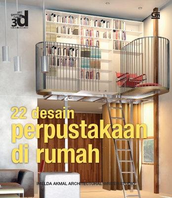 22 Desain Perpustakaan di Rumah