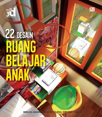 Seri Gambar Ruang 3D: 22 Desain Ruang Belajar
