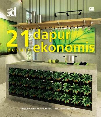 Seri Gambar Ruang 3D: 21 Desain Dapur Ekonomis
