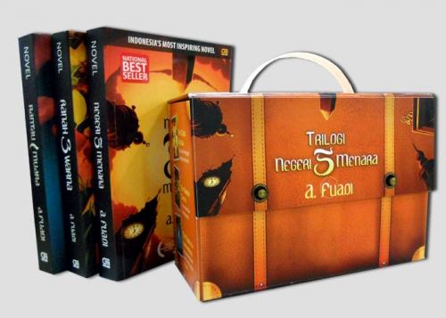 Box Set Trilogi Negeri 5 Menara
